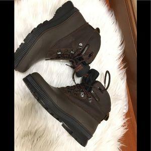 Sorel Brown Women's Waterproof Ankle Boots 9